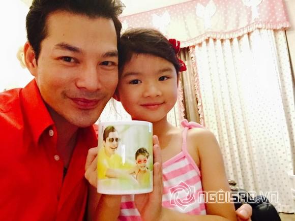 Trần Bảo Sơn và con gái 2