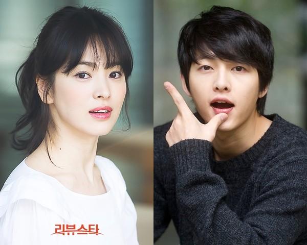 Song Hye Kyo và Song Joong Ki