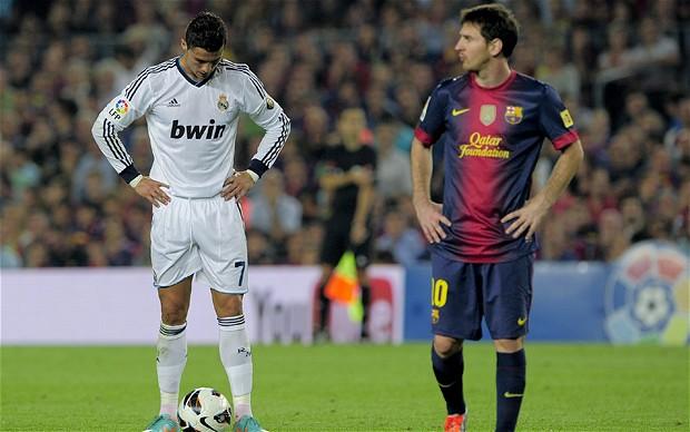 so sánh CR7 và Messi