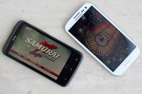 Samsung dìm hàng HTC