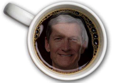 cafe với Tim Cook
