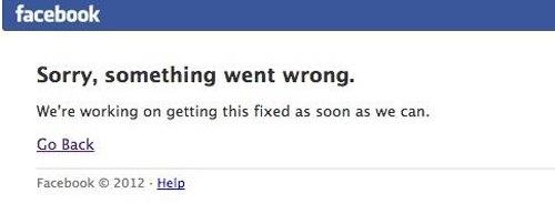 facebook chập chờn