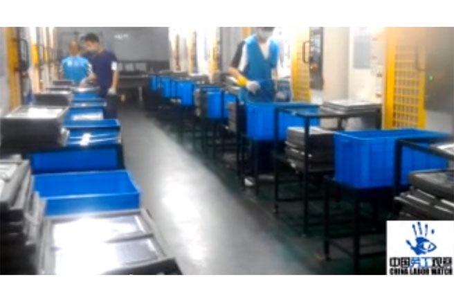 công nhân apple ở Trung Quốc