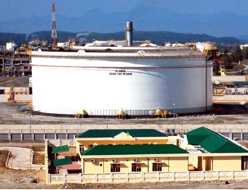 dự án lọc dầu tại bình định