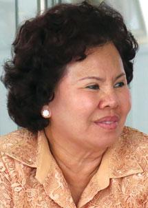 nữ chủ tịch đào hương