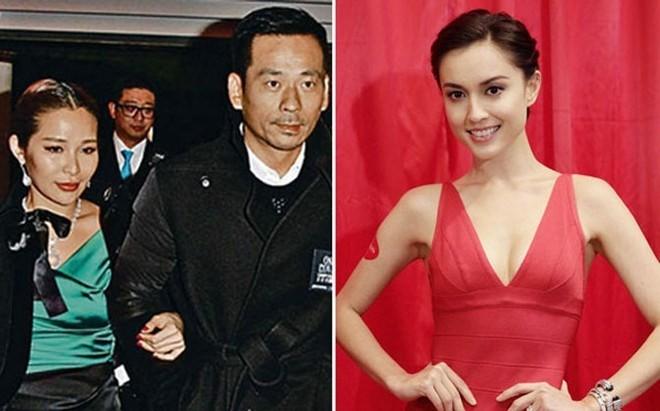 Châu Trác Hoa và vợ (trái) và Liêu Bích Lệ hình thành mối quan hệ tay ba từ hơn năm nay.
