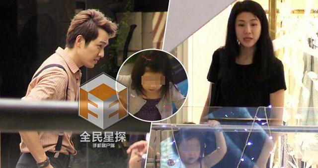 Tạ Dịch Hoa và một bé gái được cho biết đã ở chung phòng với Chung Hán Lương tại một khách sạn ở Bangkok. (Ảnh: QQ)