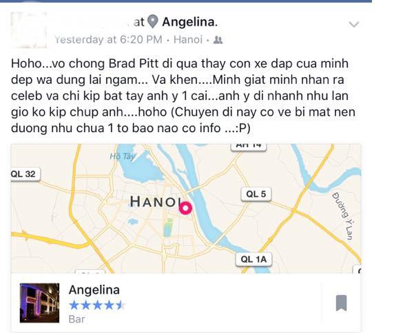 Cặp đôi siêu sao Hollywood Brad Pitt và Angelina Jolie đang có mặt tại Việt Nam - Ảnh 2.