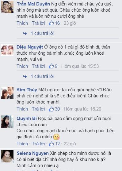 Dân mạng xúc động trước hình ảnh nghệ sĩ già Trần Hạnh chen vào đám đông trên xe bus - Ảnh 3.