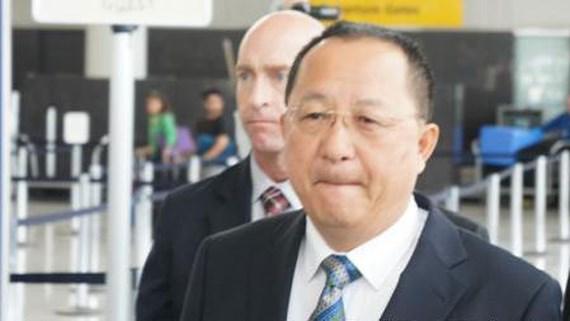 Bộ trưởng Ngoại giao Triều Tiên Ri Yong Ho. Ảnh: YONHAP