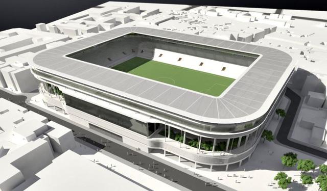 Bầu Hiển xây sân vận động Hàng Đẫy mới 250 triệu Euro trông như sân bóng Ngoại hạng Anh - Ảnh 2.