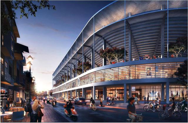 Bầu Hiển xây sân vận động Hàng Đẫy mới 250 triệu Euro trông như sân bóng Ngoại hạng Anh - Ảnh 6.