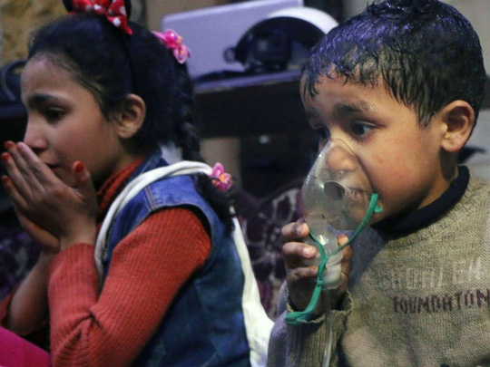 Vụ tấn công hóa học ở Syria là chiến dịch bài Nga? - Ảnh 1.