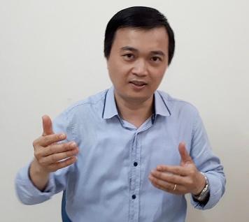 Luật sư Vũ Tiến Vinh.