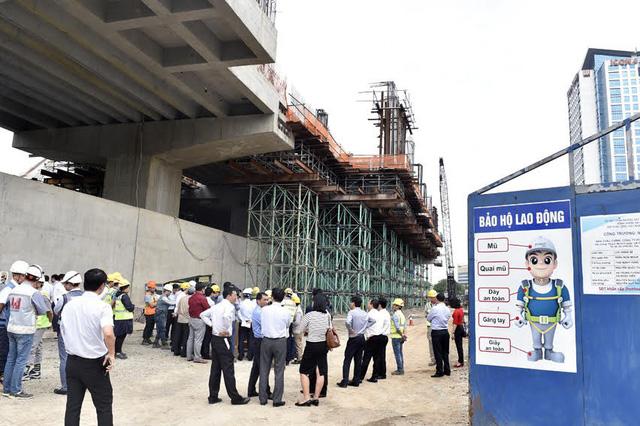 Dự án đường sắt đô thị Nhổn - ga Hà Nội chậm tiến độ nghiêm trọng