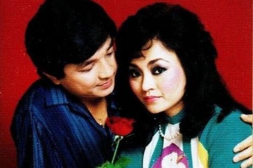 Hương Lan và Chí Tâm thuở còn mặn nồng.