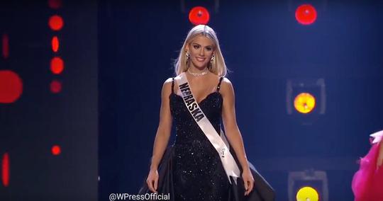 Ứng xử khéo, cô gái cao 1,65 m thành Hoa hậu Mỹ - Ảnh 1.