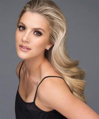 Ứng xử khéo, cô gái cao 1,65 m thành Hoa hậu Mỹ - Ảnh 4.