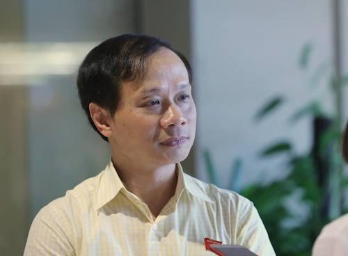 Ông Phạm Tất Thắng, Phó chủ nhiệm Uỷ ban Văn hoá, Giáo dục Thanh niên, Thiếu niên và Nhi đồng. Ảnh: Quang Phúc