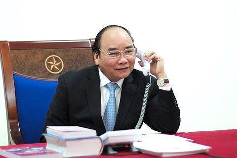 Thủ tướng gọi điện chúc mừng Olympic Việt Nam - Ảnh 1.