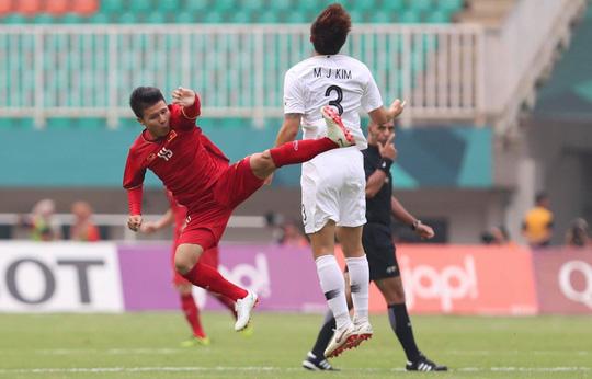 Olympic Việt Nam - Hàn Quốc 1-3: An ủi với siêu phẩm của Minh Vương - Ảnh 4.