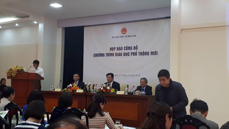 Bộ GD-ĐT chính thức công bố chương trình GDPT mới - ảnh 1