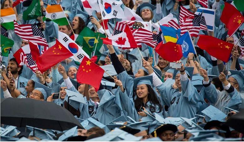 TQ đứng đầu về lượng sinh viên qua học tại Mỹ. Ảnh: THX