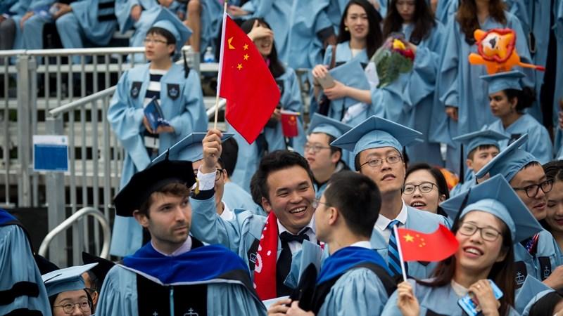 Nhà chức trách Mỹ vẫn cho rằng phần lớn sinh viên TQ qua Mỹ là để học thật sự chứ không phải để làm gián điệp. Ảnh: THX