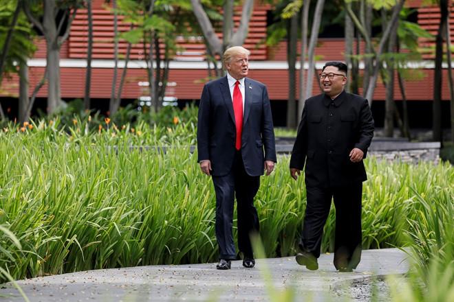 TT Trump chinh thuc tiet lo dia diem cuoc gap voi ong Kim Jong Un hinh anh 1