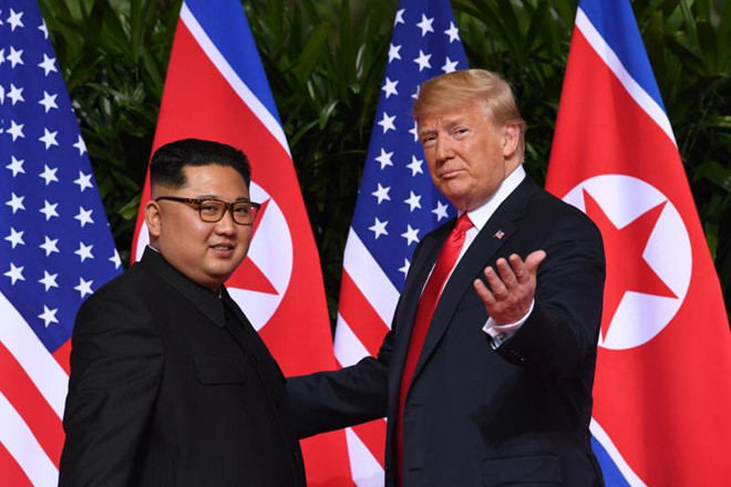My cam on Viet Nam lam chu nha cuoc gap Trump - Kim hinh anh 1