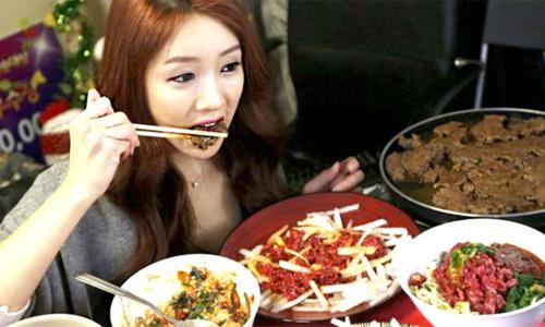 Nỗi khổ khi lấy phải vợ thích ăn