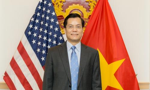 Đại sứ Việt Nam tại Mỹ Hà Kim Ngọc. Ảnh: Đại sứ quán Việt Nam tại Mỹ.