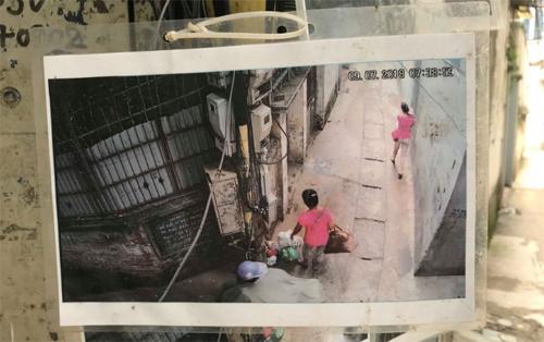 Những bức hình người đổ rác trộm được trích xuất từ camera, có ngày giờ rõ ràng, nên không ai phản đối hoặc đến đòi gỡ xuống. Ảnh: Lệnh Thắng.
