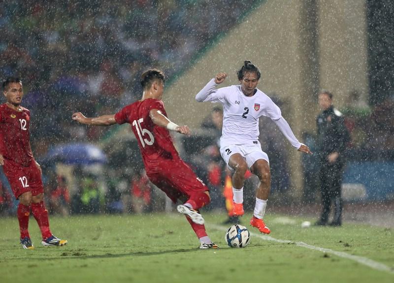 Thiếu nhiều trụ cột, U-23 Việt Nam vẫn thắng dễ U-23 Myanmar - ảnh 4