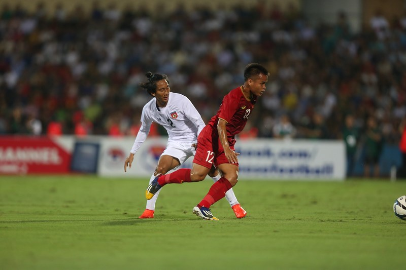 Thiếu nhiều trụ cột, U-23 Việt Nam vẫn thắng dễ U-23 Myanmar - ảnh 5