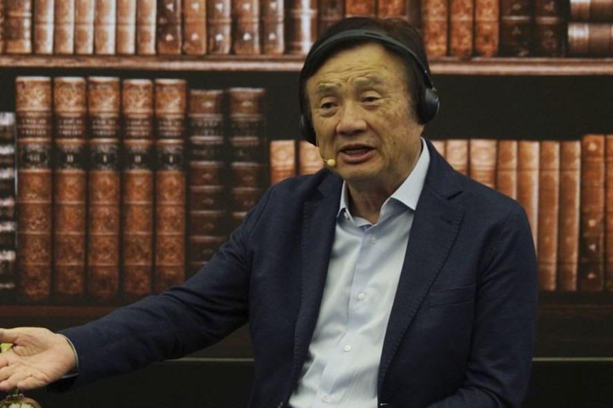Người sáng lập Huawei Nhậm Chính Phi. Ảnh: AP