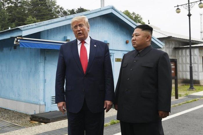 TT Trump cam on ong Kim 'cuu toi khoi bi truyen thong tan cong' hinh anh 1