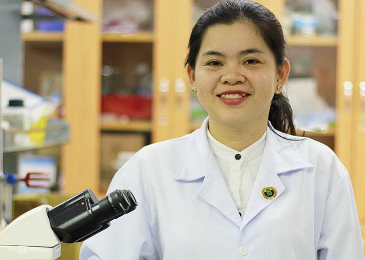 TS Nguyễn Thị Hiệp lọt top 100 nhà khoa học tiêu biểu châu Á 2019. Ảnh: Đức Toàn.