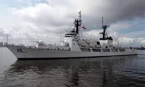 Soái hạm Gregorio del Pilar của hải quân Philippines. Ảnh: Gov.ph.