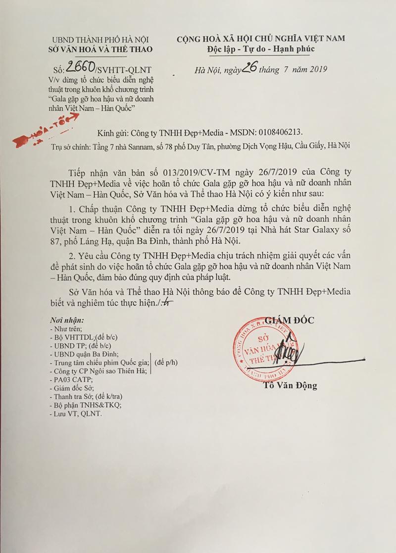 Dừng Gala gặp gỡ hoa hậu và nữ doanh nhân Việt - Hàn - Ảnh 2.
