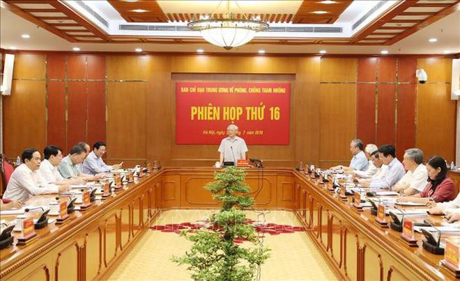Tổng Bí thư, Chủ tịch nước Nguyễn Phú Trọng: Nhiều cán bộ cấp cao diện TƯ quản lý bị khởi tố - Ảnh 1.