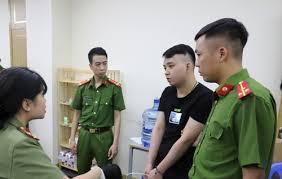 Nam thanh niên Trung Quốc được công an Việt Nam xác định điều hànhđường dây cờ bạc công nghệ cao xuyên quốc gia thuêtại khu đô thị Our City, Hải Phòng. Ảnh: CTV