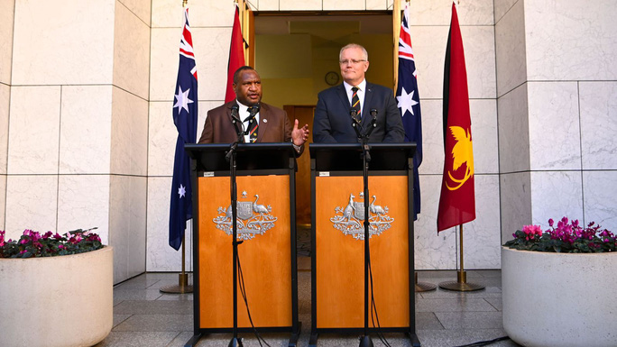"""Đang chống Trung Quốc, Úc bị Papua New Guinea """"hắt nước vào mặt"""" - Ảnh 1."""