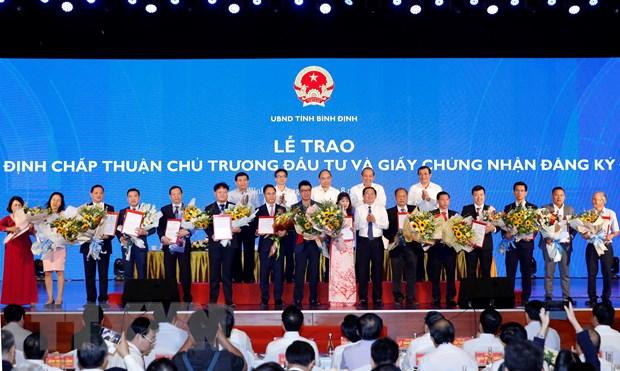 Thu tuong: Mien Trung can the hien khat vong vuon len manh me hinh anh 1