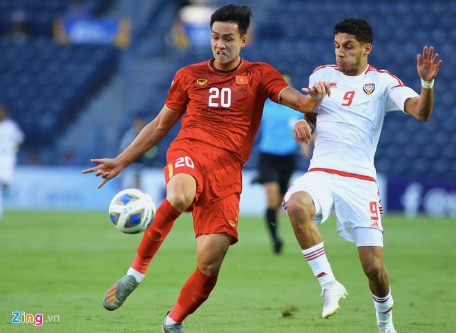 'U23 Viet Nam thanh cong khi co 1 diem truoc UAE' hinh anh 1 VA_zing.jpg
