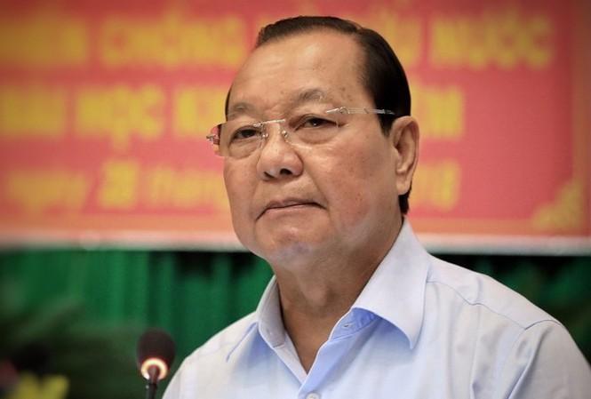 Ông Lê Thanh Hải bị cách chức nguyên Bí thư TPHCM - ảnh 1