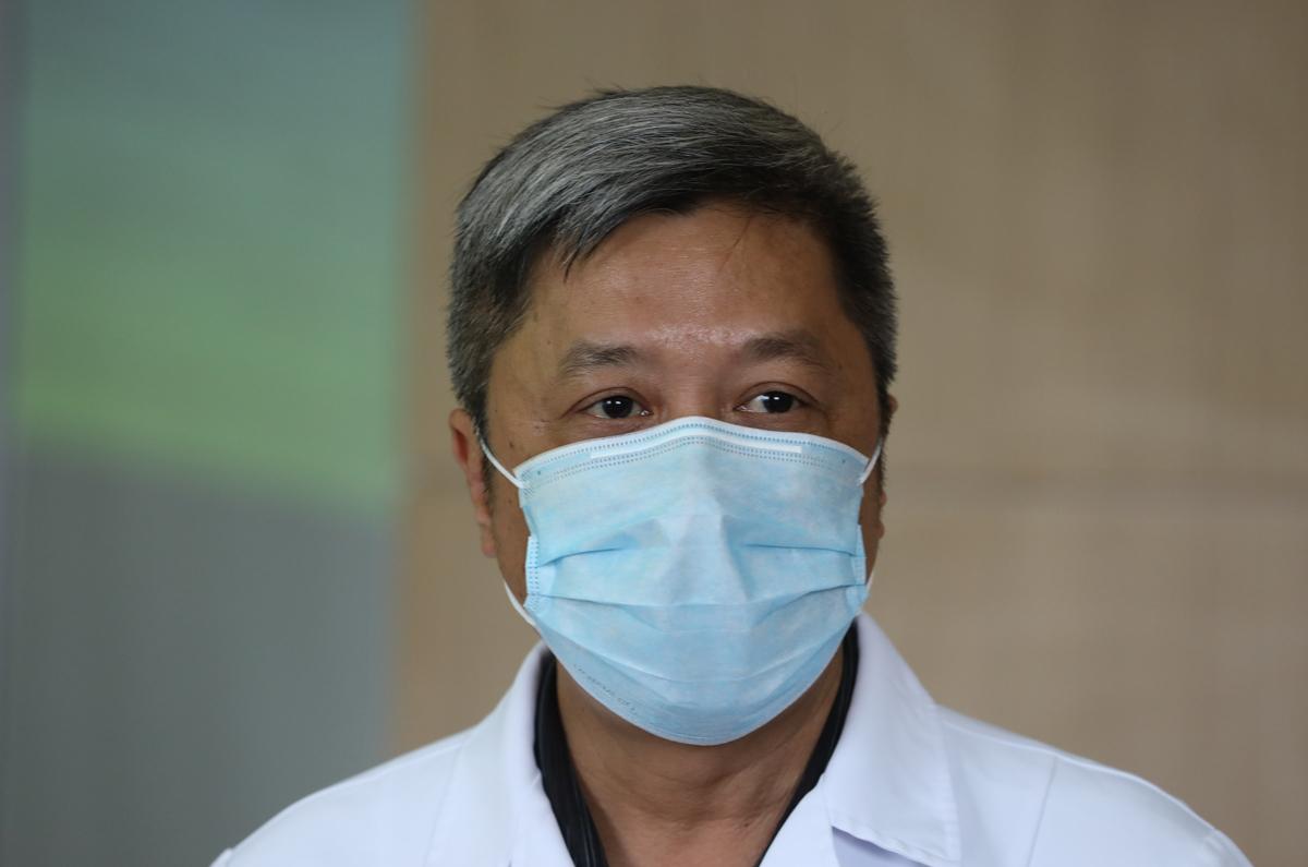 Thứ trưởng Bộ Y tế Nguyễn Trường Sơn. Ảnh:Ngọc Thành.