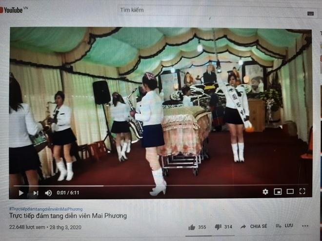 Video gia livestream dam tang Mai Phuong tran lan YouTube hinh anh 2 21538fd83f35c46b9d24.jpg