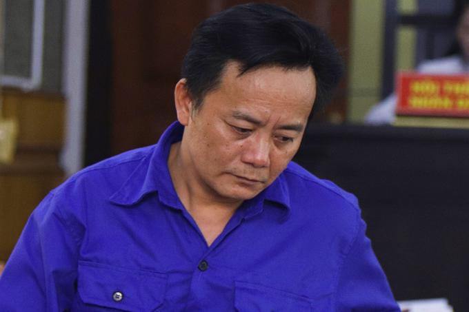 Bị cáo Nguyễn Minh Khoa. Ảnh: Phạm Dự.
