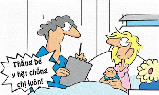 Vợ nổi điên vì con hàng xóm giống chồng - 1